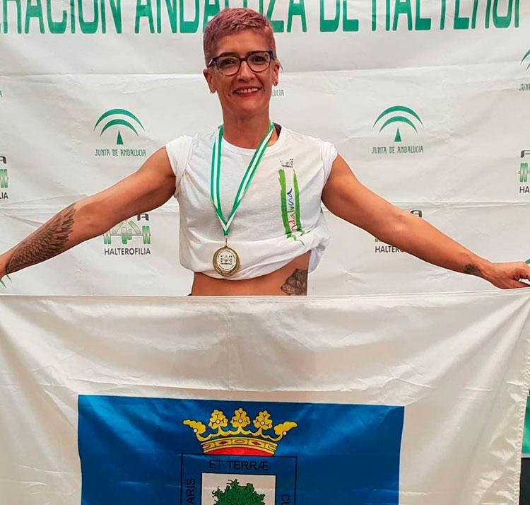 campeona andalucia master
